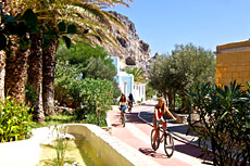 Cycling in Plakias, Crete