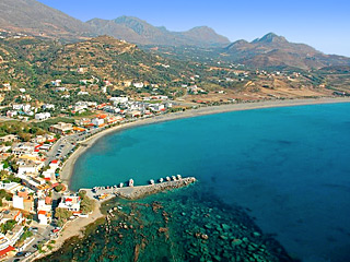 Plakias beach, just 3km from AnnaView apartments