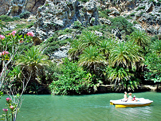 Preveli palm beach, just 9km from AnnaView apartments