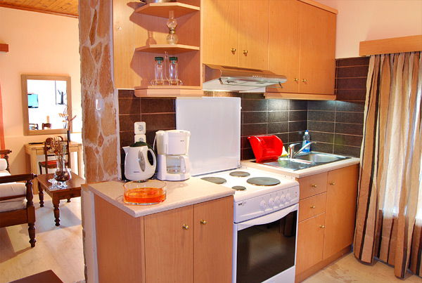 Fully-equipped kitchens in AnnaView Apartments