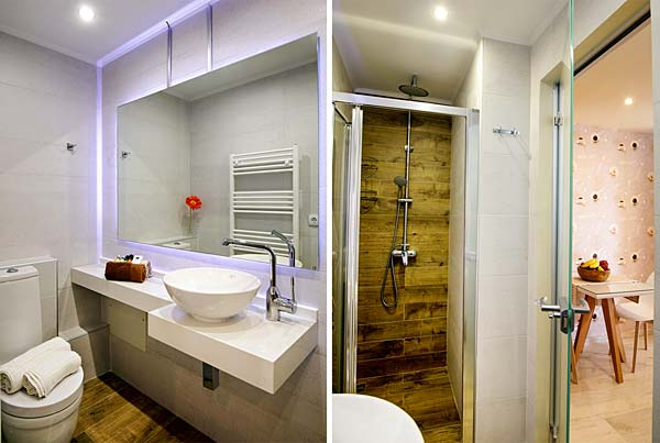 Enjoy your bath in the five-star luxurious bathrooms of AnnaView Apartments