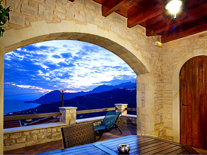 Amazing seaview and stone construction in the balcony of a TYPE-B apartment