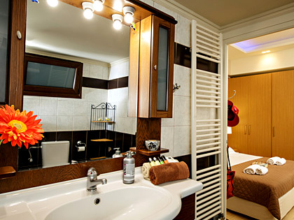 Luxurious bathrooms of AnnaView Apartments