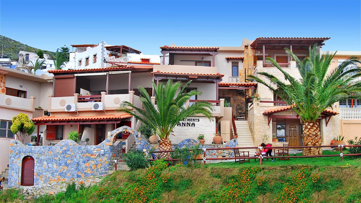 AnnaView Apartments in Plakias, Crete