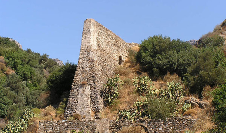 The old mill in Mirthios
