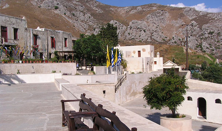 The Preveli Monastery in Rethimnon, Crete