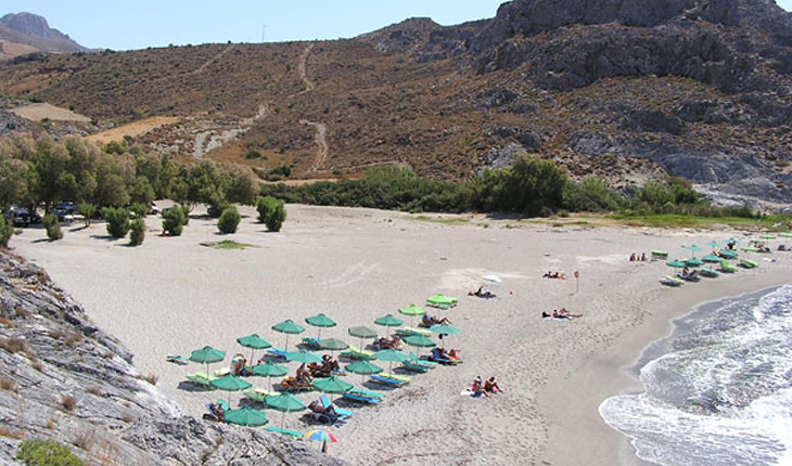 The Ammoudi Beach in Plakias