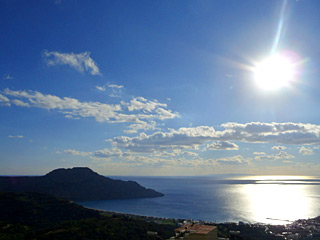 Winter Holidays in Crete - A sunny winter day at AnnaView apartments with amazing view