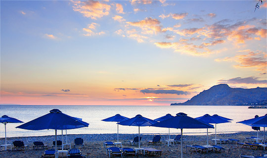 Beaches in Plakias, Crete
