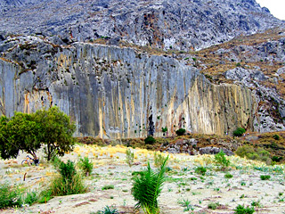 Paligremnos - Rock Caves & Cliff in Plakias, Crete