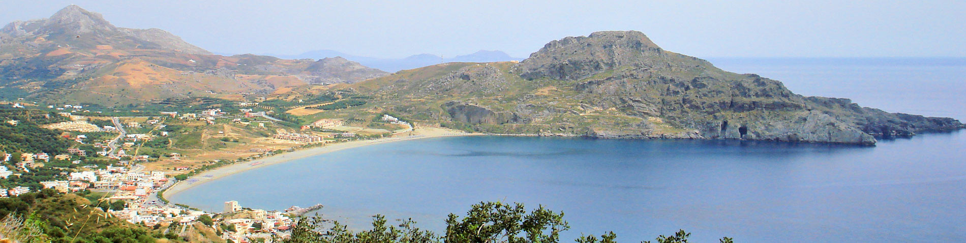Find us in Mirthios, Plakias, Crete